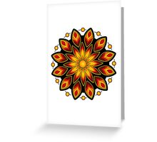Flower Fire! Greeting Card