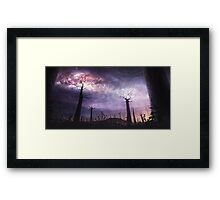 In Touch with the Universe Framed Print