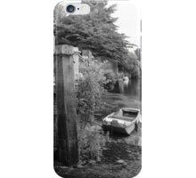 Old Boat at Twickenham Riverside iPhone Case/Skin