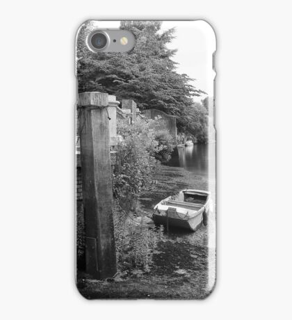 Old Boat at Twickenham Riverside iPhone Case/Skin