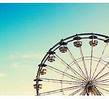 Vintage Ferris Wheel Photographic Print