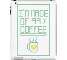 99% Coffee iPad Case/Skin