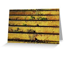 Cattle Grate Greeting Card
