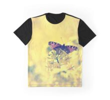 Sunshine and Butterflies Graphic T-Shirt