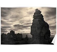 Arches NP IX Toned Poster