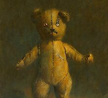 Undead Teddy by mictomart