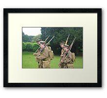 Birmingham Battalion, Royal Warwickshire Regiment (Birmingham Pals) Framed Print