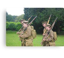 Birmingham Battalion, Royal Warwickshire Regiment (Birmingham Pals) Canvas Print