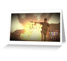 Video Game Highschool - Brian D Greeting Card