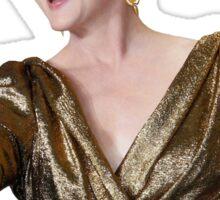 Meryl Streep Sticker