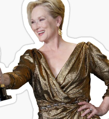 Meryl Streep Sticker