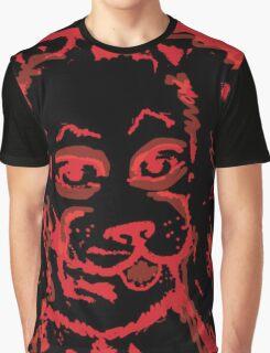 Red Dog Graphic T-Shirt