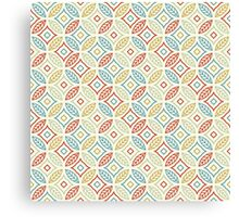 "Seamless Pattern ""Leaves"" Canvas Print"