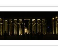 Luxor pillars panoramic Sticker