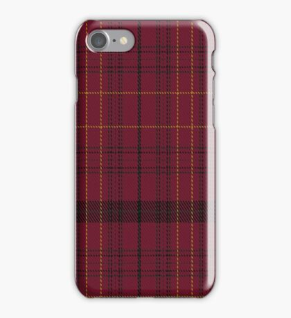 02106 Williams of Wales Clan/Family Tartan  iPhone Case/Skin