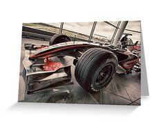 McLaren F1 Car Greeting Card