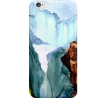 Mountain waterfall iPhone Case/Skin