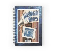 Washboard Blues Vintage Piano Sheet Music Spiral Notebook