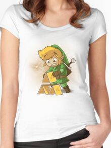 Trihouse of Cards Women's Fitted Scoop T-Shirt