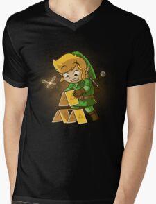 Trihouse of Cards Mens V-Neck T-Shirt