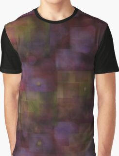 Rose and Gold Tonal Abstract Print Graphic T-Shirt