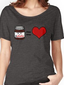 Nutella Is Love Women's Relaxed Fit T-Shirt