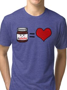 Nutella Is Love Tri-blend T-Shirt