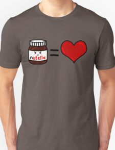 Nutella Is Love Unisex T-Shirt