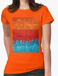 Blue Canyon original painting Womens Fitted T-Shirt