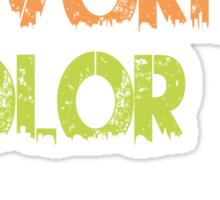 My Favorite Color Is No Pants Sticker