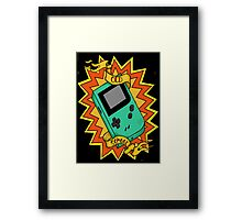Game Boy Old School Framed Print