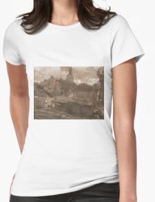 Gold Dust Saloon Womens Fitted T-Shirt