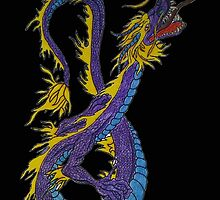 Chinese dragon by LadyJaneSparrow
