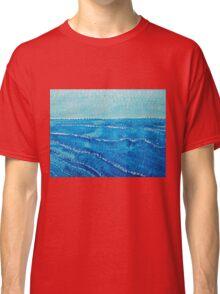 Japanese Waves original painting Classic T-Shirt
