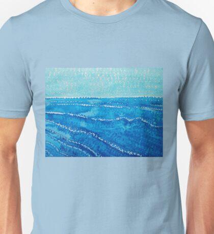 Japanese Waves original painting Unisex T-Shirt