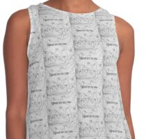 Pigeons are coo man Contrast Tank
