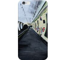 London Underground Wood Green Piccadilly Line Tube Station Acrylic Painting iPhone Case/Skin