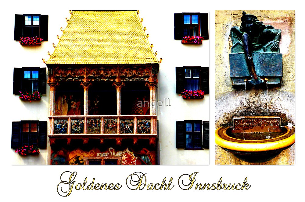 Goldenes Dachl Innsbruck by ©The Creative  Minds