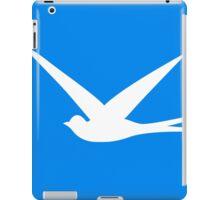 Sweet Swallow in the Blue Sky iPad Case/Skin