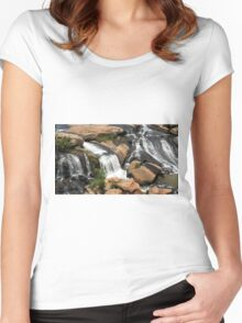 Liberty Falls 2 Women's Fitted Scoop T-Shirt