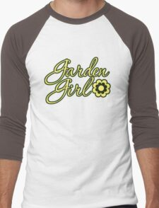 Garden Girl Men's Baseball ¾ T-Shirt