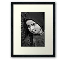 Mona Lisa's Smile Framed Print