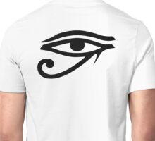 Evil Eye, All Seeing Eye, Eye of Horus, Anti Christ, Udjat, Devil's eye, Satan's eye, Eye of Providence, all-seeing eye of God Unisex T-Shirt