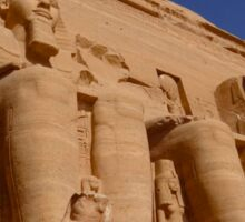 Egypt Abu Simbel to the Sky Sticker