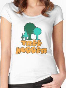 Tree Hugger Women's Fitted Scoop T-Shirt