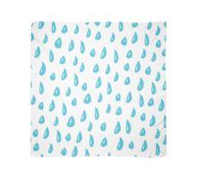Funny ink blue rain Scarf