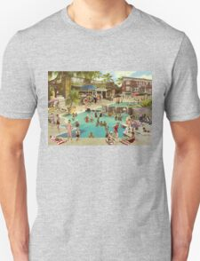 Art Déco Pool Unisex T-Shirt