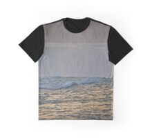 Horseshoe Falls Detail During Sunset | Niagara Falls, New York Graphic T-Shirt