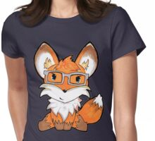 Geeky Fox Womens Fitted T-Shirt