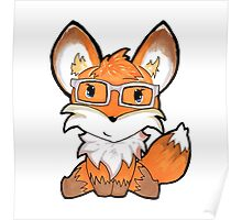 Geeky Fox Poster